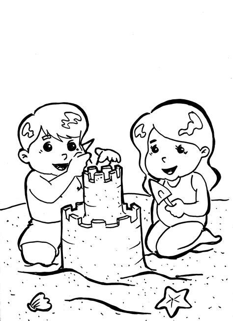 imagenes de niños jugando rondas para colorear playa colorear top dibujo para colorear hello kitty