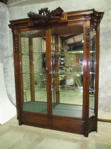 mirror backed display cabinets mahogany mirror backed display cabinet 282680