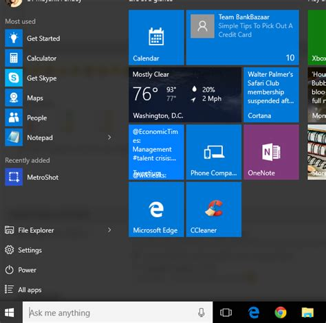 How To Search For On The How To Search Installed Apps Programs In Windows 10 Start