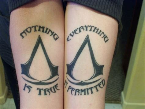 tattoo assassins online i would never get an ac tattoo but i ve always loved this