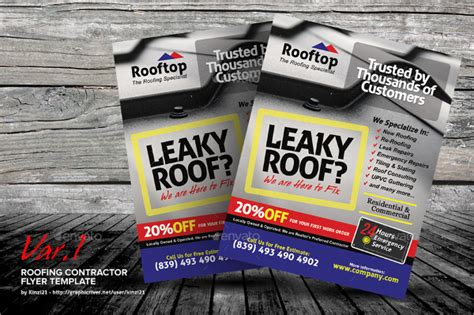 6 Roofing Flyers Psd Eps Ai Free Premium Templates Roofing Flyer Templates