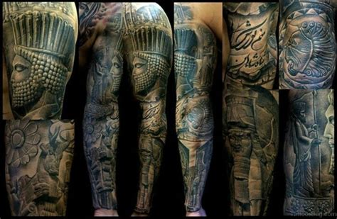 warrior tattoo sleeve designs 62 exclusive sleeve tattoos for