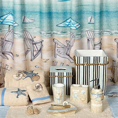 beach themed shower curtain hooks 12 pcs beach carved rope seaside sturdy shower curtain