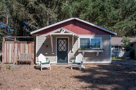 Bodega Bay Cing Cabins by Bodega Bay Escapes Vacation Home Rentals Pineview Cottage