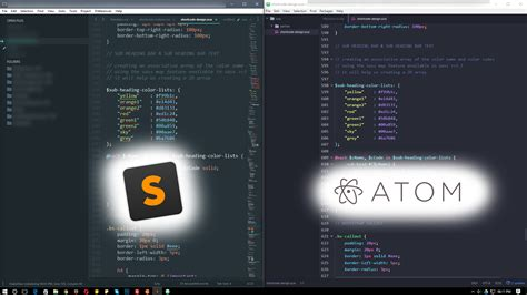 sublime text 3 atom theme sublime text vs atom which one i prefer most and why