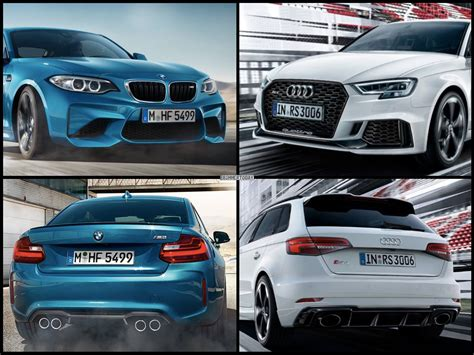 Bmw 1er 2017 Ps by Audi Rs 3 Facelift 2017 Neuer Bmw M2 Rivale Mit 400 Ps