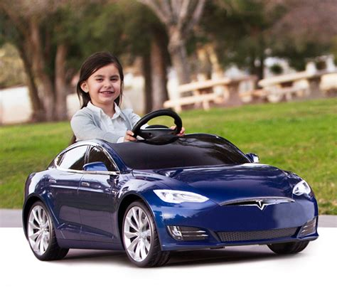 tesla for model s battery powered ride on car