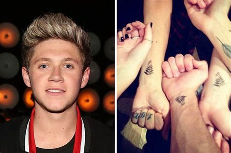 niall tattoos one direction s niall horan gets a on his