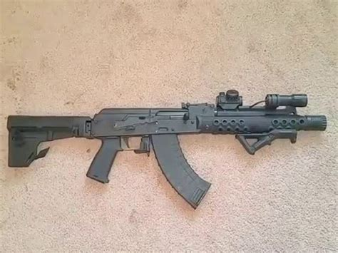 with blade draco ak47 pistol with shockwave blade br