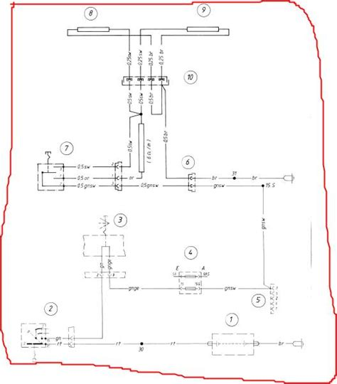 motorcycle hazard lights wiring diagram 8n ford tractor