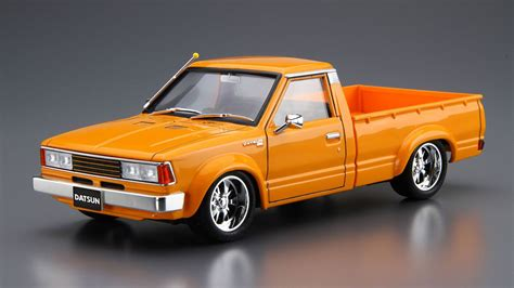 nissan datsun model 1 24 scale 720 datsun truck custom 82 model kit kent models
