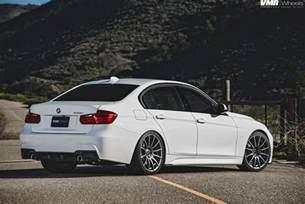 Bmw 335i F30 Alpine White Bmw F30 Series On Vmr V721 Wheels