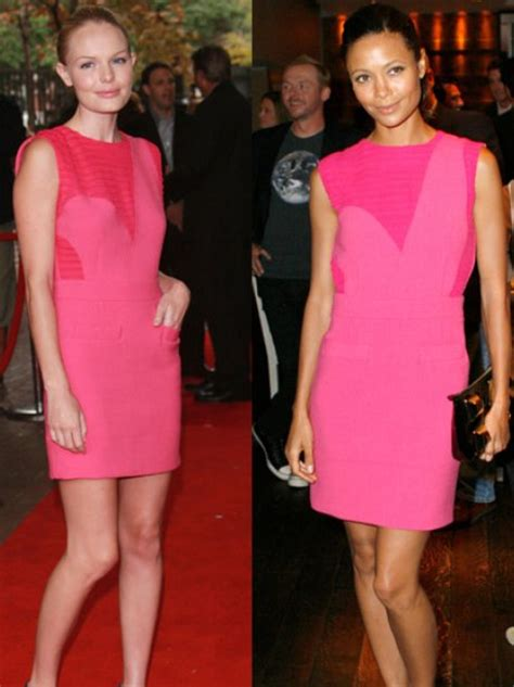 Who Wore It Better Kate Bosworth Vs Thandie Newton In Preen kate bosworth and thandie newton who wore it better