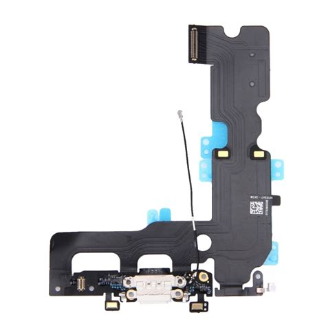 replacement for iphone 7 plus charging port flex cable white alexnld