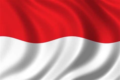 gambar bendera negara indonesia gambar bendera negara