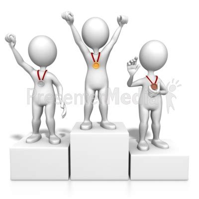winner drawing software olympic award podium clipart