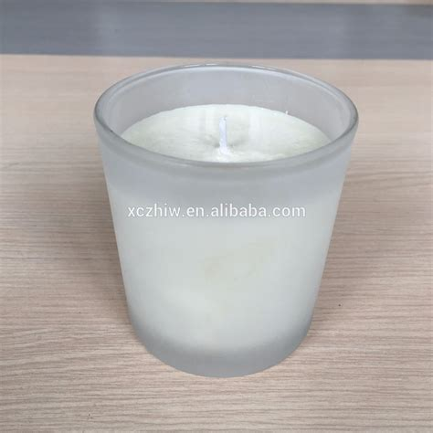 Candle Jars Wholesale Frosting Glass Scented Candle Wholesale Glass Jar Scented
