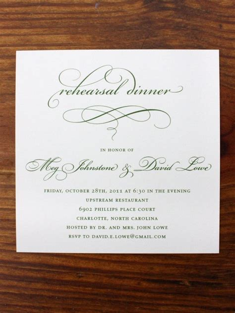 wedding rehearsal dinner invitations pin by mellino on the wedding