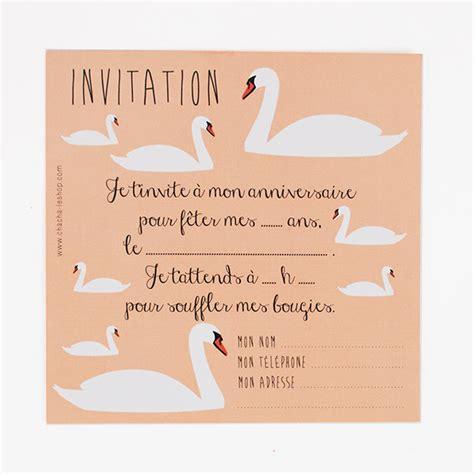 Swan Themed Wedding Invitations by Stationery Swan Invitations Children S Birthday My