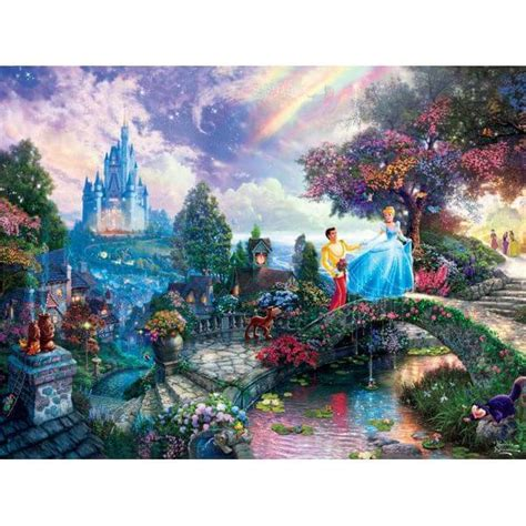 1449453562 thomas kinkade the disney dreams thomas kinkade the disney dreams collection cinderella