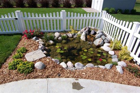 backyard fish pond kits garden pond photo gallery