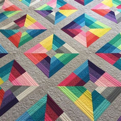 quilt pattern modern beautiful modern quilt made from only solids quilts