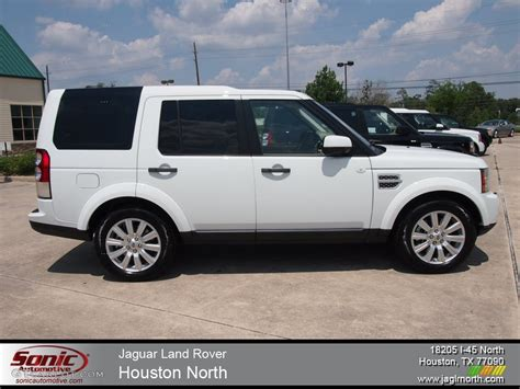 white land rover lr4 2012 fuji white land rover lr4 hse lux 65553625