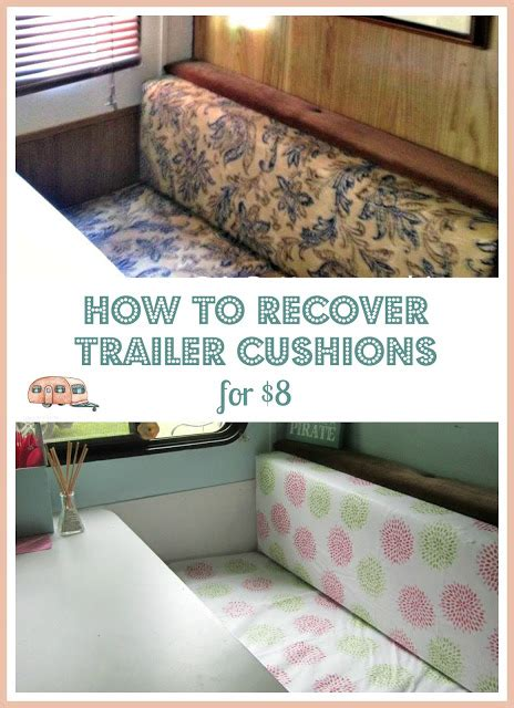 how to do a sew in to cover shaved sides gling update 8 trailer diy dinette cushion covers