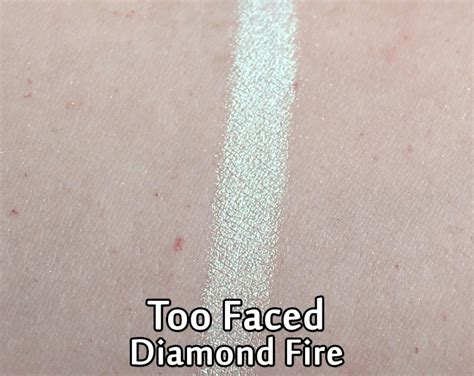 faced light highlighter swatches faced highlighter review swatches