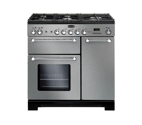 Rangemaster Kitchener 90 Dual Fuel buy rangemaster kitchener 90 dual fuel range cooker stainless steel chrome free delivery