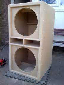 Bass Cabinet Design Pair Of 15 Quot Bass Bins Speaker Boxs Soundsystem Fane