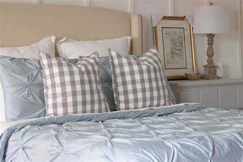 blue pintuck comforter blue pintuck bedding seeking lavendar lane