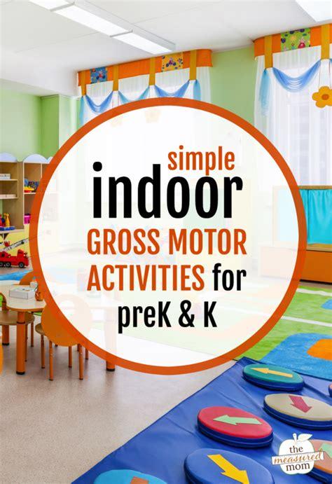 indoor gross motor activities for preschool and
