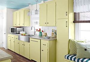 Kitchen decorating ideas with fresh paint color