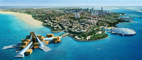 saadiyat island abu dhabi saadiyat the architectural headquarters of today design