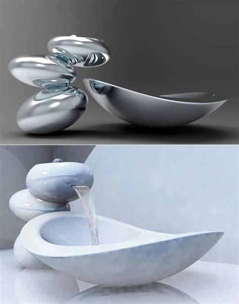 lavandini bagno spettacolari modelli di lavandini futuristici per il bagno