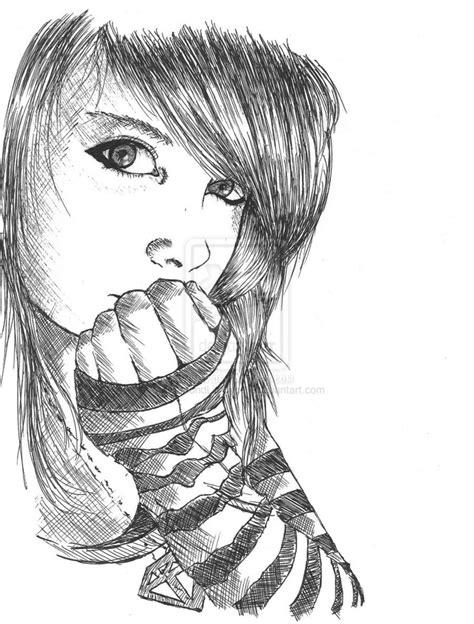 wallpaper girl sketch cute girl sketch wallpaper 41 best tumblr girl images on