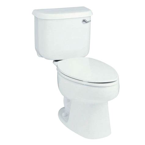 ariel platinum 1 1 6 gpf elongated toilet in white