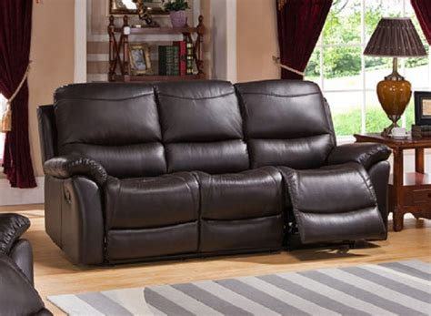 Pisa Top Grain Leather Reclining Sofa Top Grain Leather Sofa Recliner