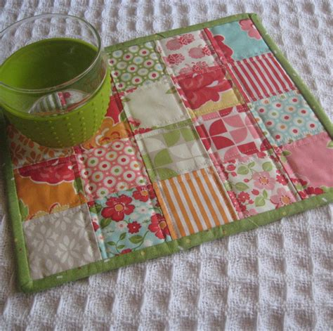 Patchwork Mug Rugs - patchwork mug rugs rugs ideas