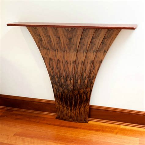 hallway accent table quot grace quot handmade french walnut hallway table