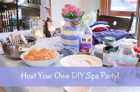 Your Own Spa by Host Your Own Diy Spa Baby
