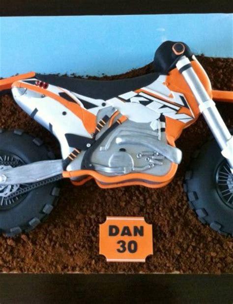 Ktm Bike Cake Ktm Dirt Bike Cake Sugarlily Cakes