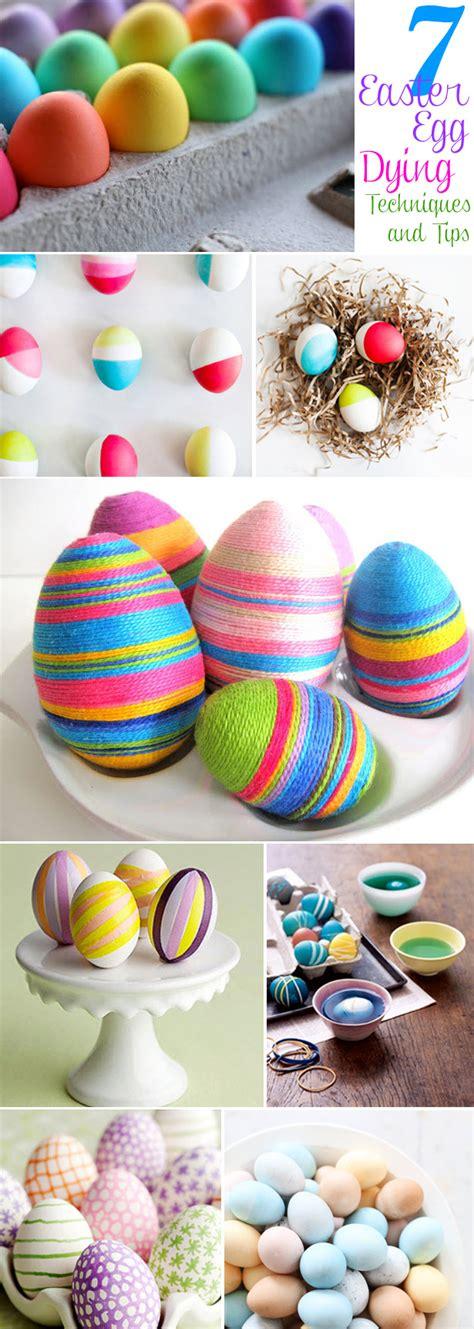 easter egg dye ideas 7 easter egg dyeing techniques the celebration shoppe
