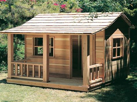Small Cottage Kits by Wooden Playhouse Plans Girls Playhouse Plans Simple House