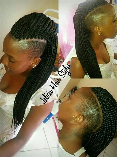 shaved mohawk braids 138 best images about short chic hair cuts and shaved