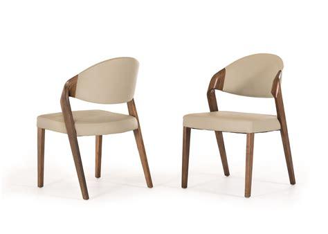 walnut dining room chairs modrest arlo mid century grey walnut dining chair set