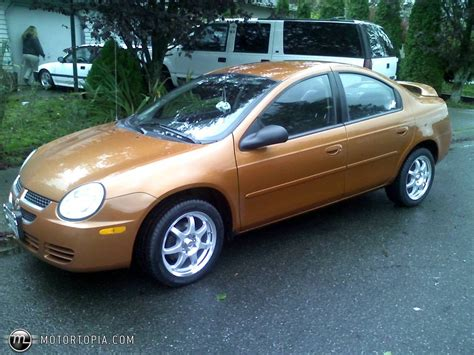 2005 dodge neon information and photos momentcar