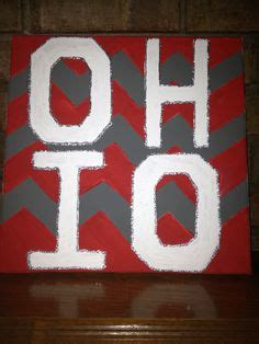 canvas osu ohio state canvas art how firm thy friendship pinterest