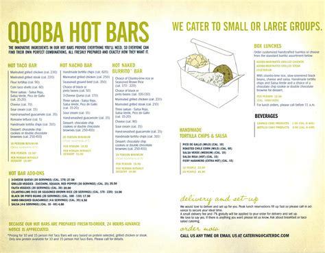 printable menu for qdoba qdoba menu printable with prices 2017 2018 best cars